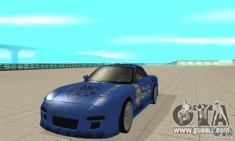 Mazda RX-7 Pickup for GTA San Andreas left view
