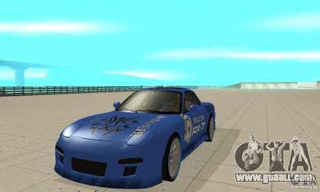 Mazda RX-7 Pickup for GTA San Andreas left view