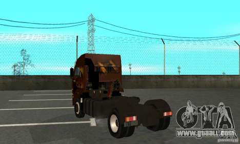 KAMAZ 5460 4 Skin for GTA San Andreas right view