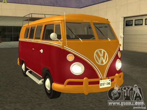 Volkswagen Transporter T1 Camper for GTA San Andreas