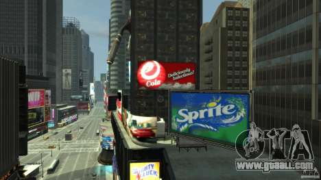 Real Time Square mod for GTA 4 forth screenshot