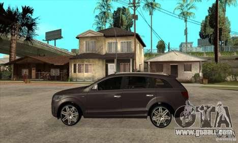 AUDI Q7 V12 V2 for GTA San Andreas left view