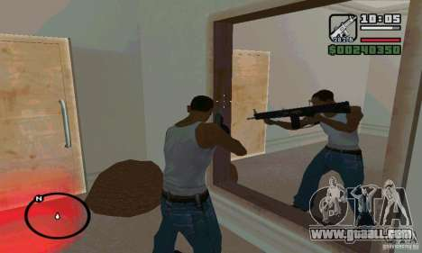 The AA-12 shotgun for GTA San Andreas second screenshot
