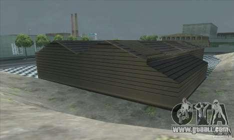The updated garage CJ in SF for GTA San Andreas fifth screenshot