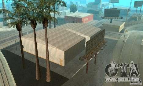 Basketball Court v6.0 for GTA San Andreas fifth screenshot