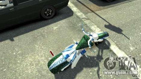 HellFire Chopper for GTA 4 back left view