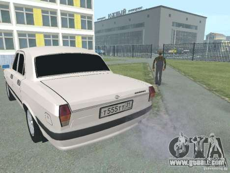 GAZ-24 Volga 105 for GTA San Andreas back left view