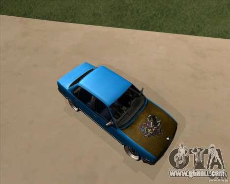 BMW E30 325e Duscchen for GTA San Andreas left view
