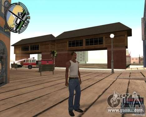 S.T.A.L.K.E.R. Call of Pripyat HUD for SA v1.0 for GTA San Andreas eighth screenshot