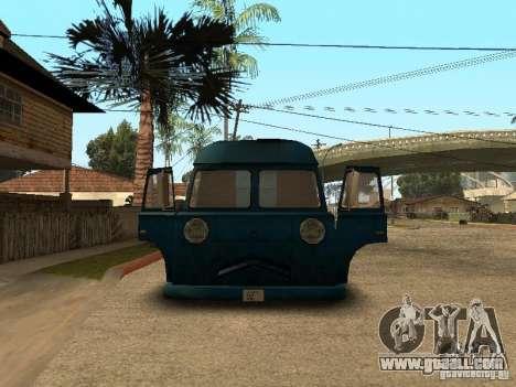 Civilian Hotdog Van for GTA San Andreas right view