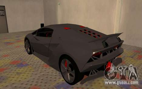 Lamborghini Sesto Elemento 2011 for GTA San Andreas right view