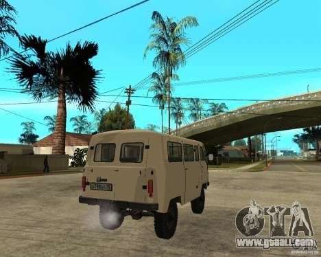 UAZ 2206 for GTA San Andreas