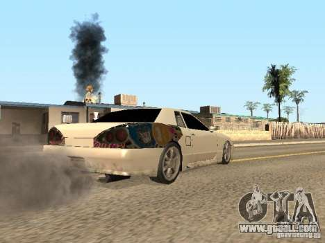 Elegy by Foresto_O for GTA San Andreas left view