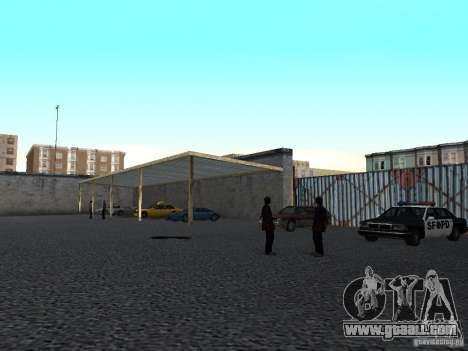 Realistic driving school v1.0 for GTA San Andreas third screenshot