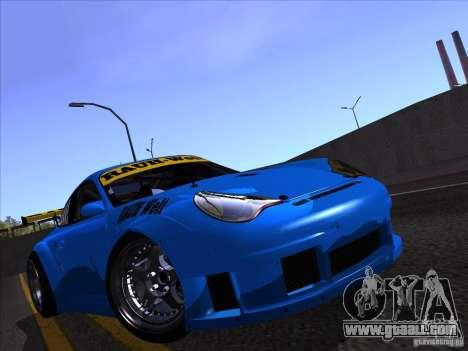 Porsche 911 GT3  RWB for GTA San Andreas right view