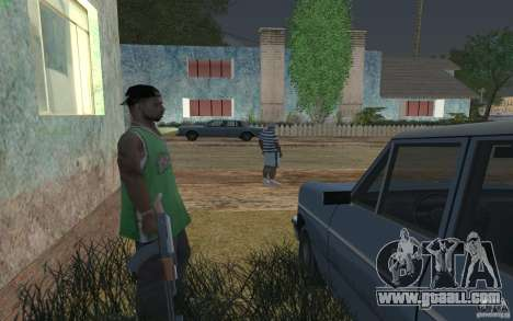 The House of green for GTA San Andreas forth screenshot