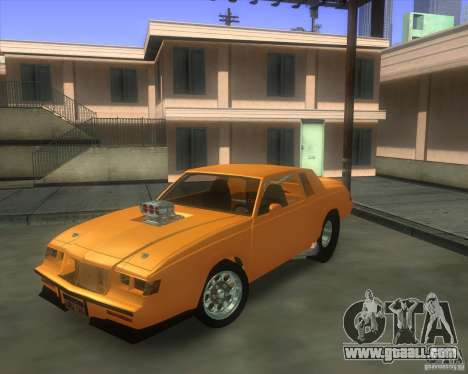 Buick GNX pro stock for GTA San Andreas