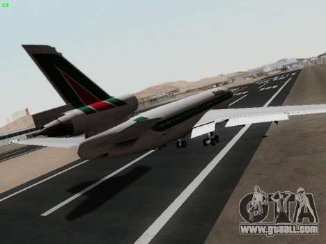 McDonell Douglas DC-10-30 Alitalia for GTA San Andreas back left view