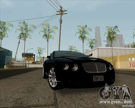 Bentley Continental GT V1.0 for GTA San Andreas left view