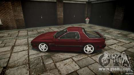 Mazda RX7 FC3S for GTA 4 left view