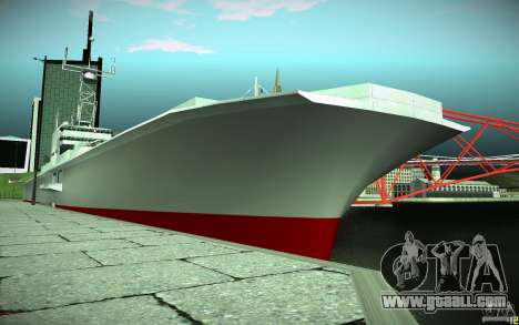 Aircraft Carrier V2 Final for GTA San Andreas