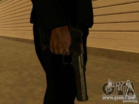 Desert Eagle MW3 for GTA San Andreas third screenshot