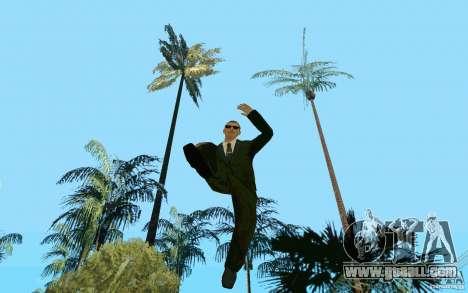 Black MIB for GTA San Andreas third screenshot