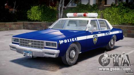 Chevrolet Impala Police 1983 [Final] for GTA 4 side view