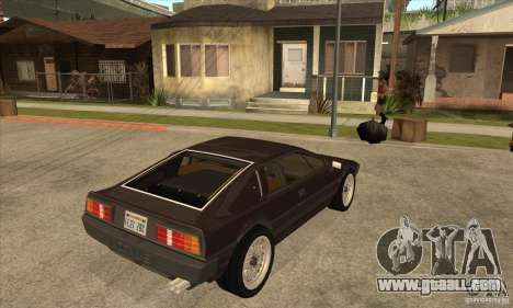 Lotus Esprit S3 for GTA San Andreas right view