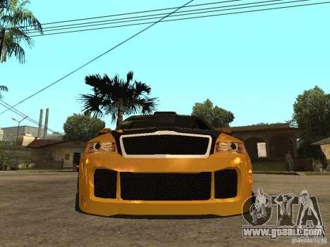 Skoda Octavia II Tuning for GTA San Andreas right view