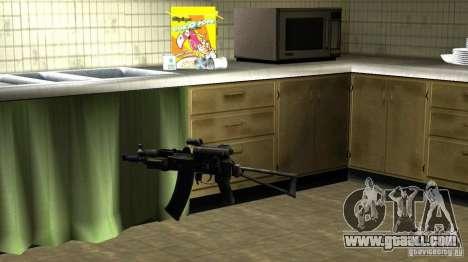 Pak Domestic weapons version 6 for GTA San Andreas