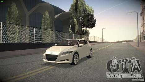 Honda CR-Z 2010 V1.0 for GTA San Andreas side view