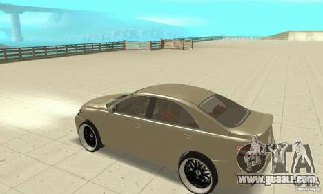 Toyota Camry Tuning 2010 for GTA San Andreas back view