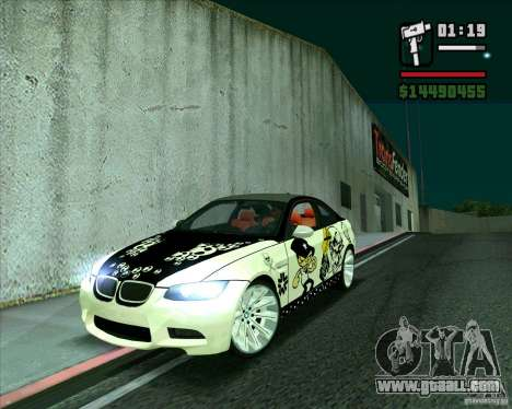 BMW M3 (E92) 2007 for GTA San Andreas
