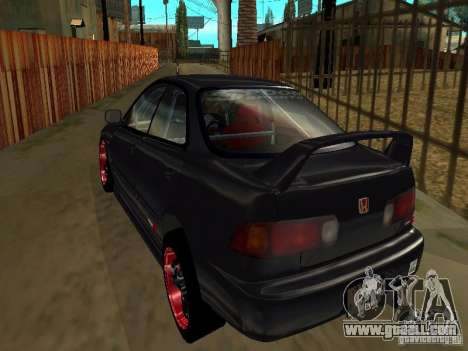 Honda Integra TypeR for GTA San Andreas side view
