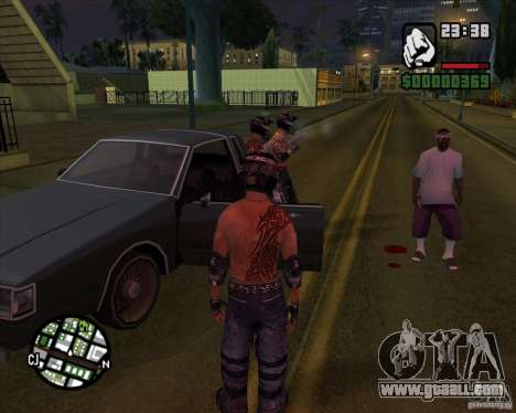 New skins for Groove for GTA San Andreas second screenshot