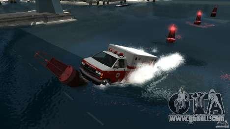 Ambulance boat for GTA 4