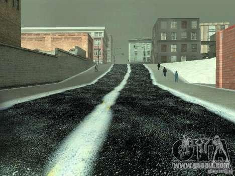 Snow v 2.0 for GTA San Andreas eleventh screenshot