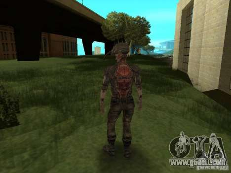 Snork from S.T.A.L.K.E. r for GTA San Andreas fifth screenshot