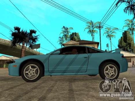 Mitsubishi Eclipse 1998 Need For Speed Carbon for GTA San Andreas left view
