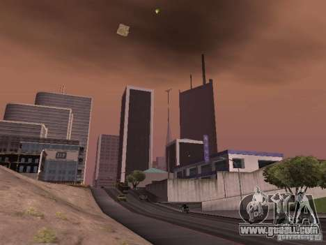 Weather manager for GTA San Andreas forth screenshot