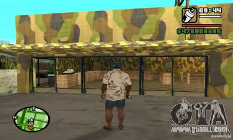 Gun shop on Grove for GTA San Andreas sixth screenshot