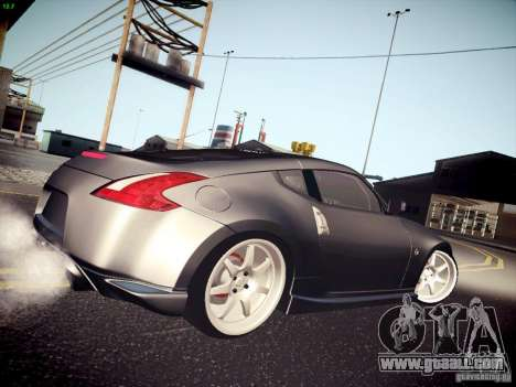 Nissan 370Z Fatlace for GTA San Andreas left view