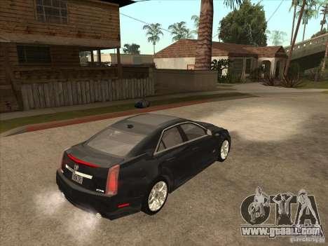 Cadillac CTS-V 2009 for GTA San Andreas right view