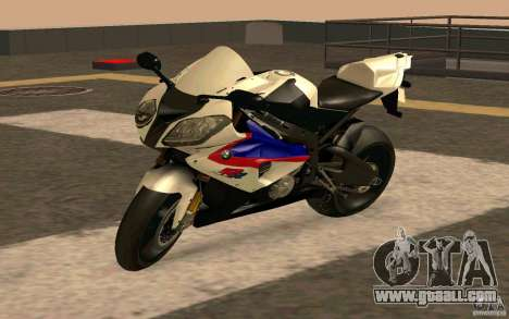 BMW S1000RR City Version for GTA San Andreas back left view
