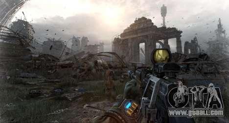 Metro Last Light AK 47 for GTA San Andreas third screenshot
