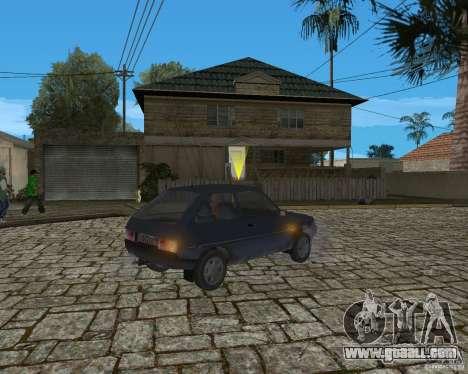 ZAZ 1102 Tavria for GTA San Andreas back left view
