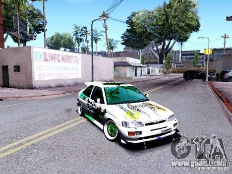 Ford Escort RS 92 Hella for GTA San Andreas