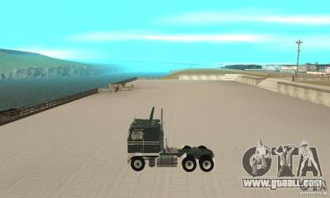 Kenworth K100 USA Standard for GTA San Andreas left view