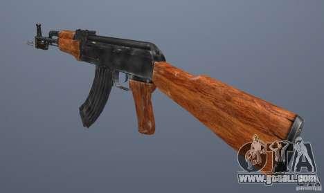 Ak 47 with Bayonet for GTA San Andreas third screenshot